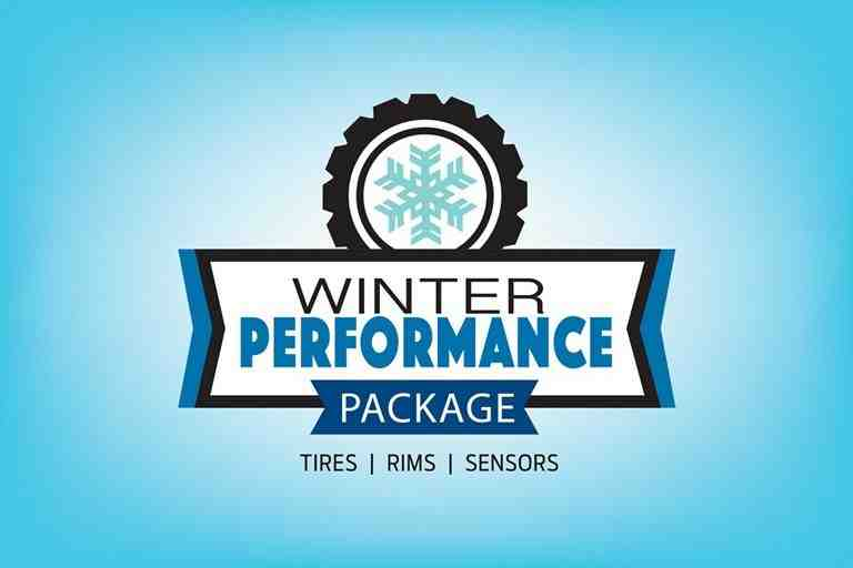 Ford Winter Performance Package includes tires, rims, and sensors